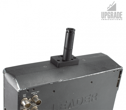 Leader LV Non-Twist Mounting Plate to 1/4 Pin-Lock 15mm Spud