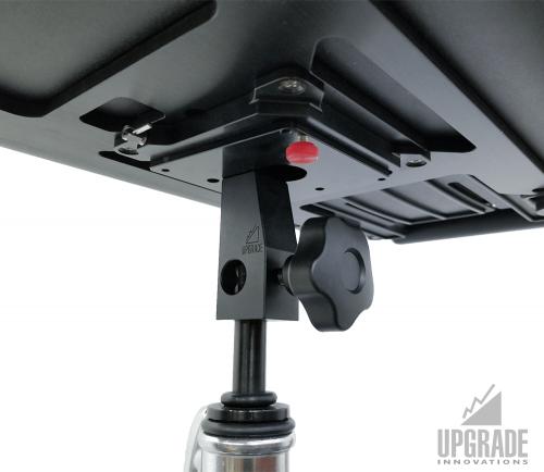 Quick Release VESA Plates to Spigot Adapter - DIT BOX + Laptop Tray QR Accessory Kit