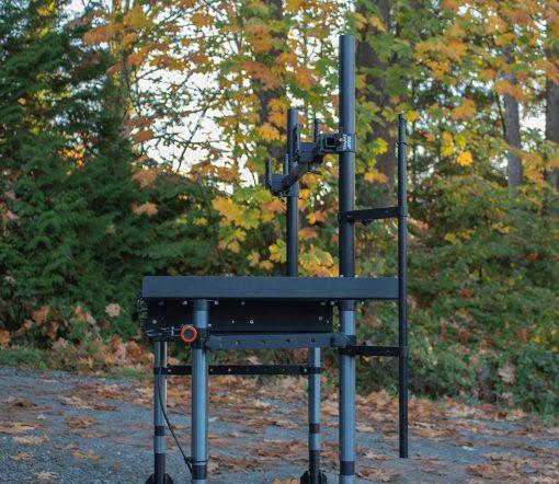 Whaley Rail II Vertical Posts are same diameter as Inovativ legs